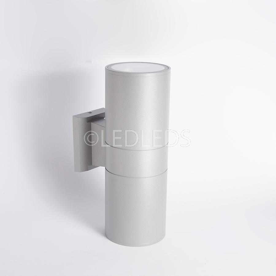 Applique doppia luce per uso esterno up down ip67 220v e27 lampada parete muro ebay - Applique led esterno ...