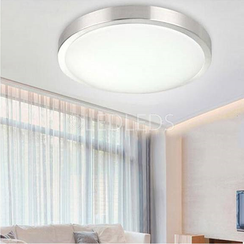 Plafoniera Led Applique Da Soffitto E Parete Faretto Tonda