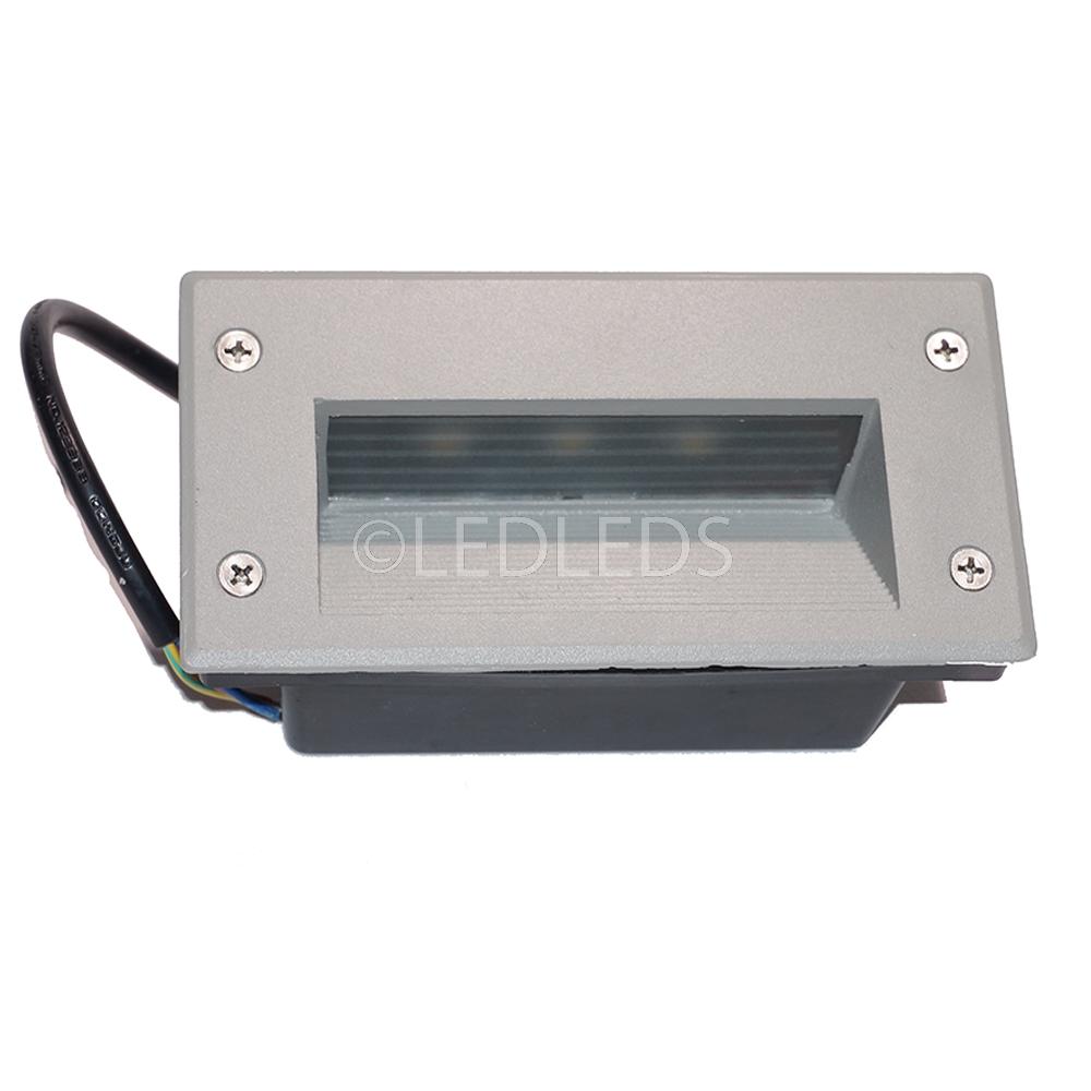 Segnapassi led esterno ip67 3w viale rampa applique for Segnapassi a led