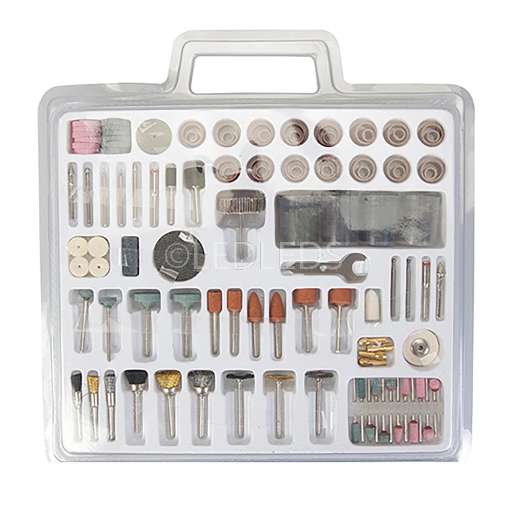 Kit 216 accessori frese per dremel mini trapano - Frese per piastrelle ...