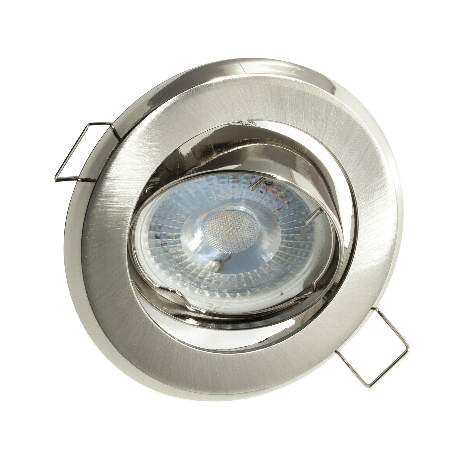 10x 1x3w MINI FARETTO LED INCASSO 30° BIANCO CALDO 3w 220v 230v ORIENTABILE D3E1