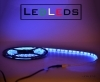 300 LED STRIP STRISCIA 5m 12V blu  IP65 5 m 500 CM IMPERMEABILE PER ACQUARIO