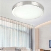 Plafoniera Led applique da Soffitto Parete Faretto tonda 18w Luce Naturale 4000k