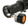 MINI TORCIA TATTICA MILITARE 500 LUMENS RICARICABILE CREE LED CON ZOOM TASCABILE