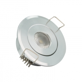 Faretto led incasso punto luce spot led 1x3 watt resa 30w 230v LED HI-POWER